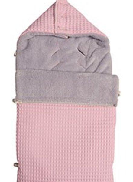Koeka Koeka voetenzak maxi cosi licht roze