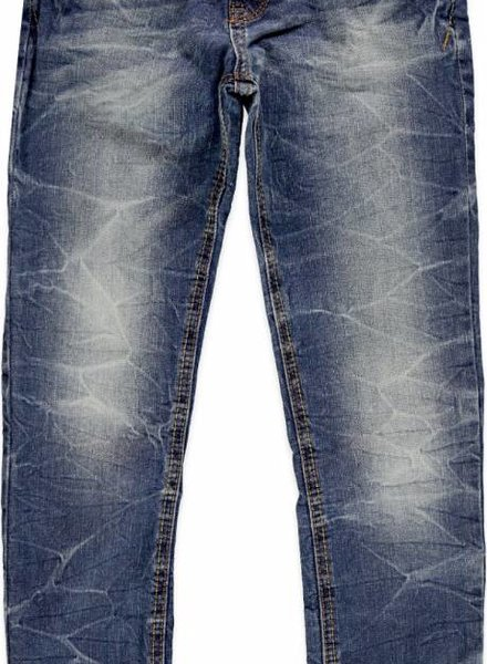 blue rebel Blue Rebel jeans sandblast wash