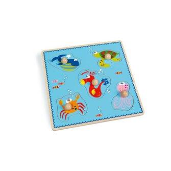 Scratch Europe Knop puzzel zee
