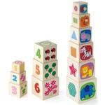 New Classic Toys Houten piramide toren