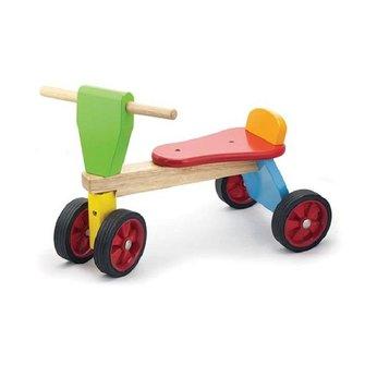 Viga Toys Loopfiets 4 wielen Multi-color