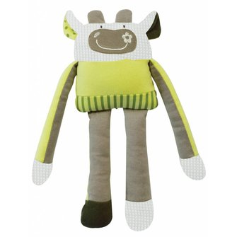 I'm Toy Vrolijke Knuffel Koe Groen