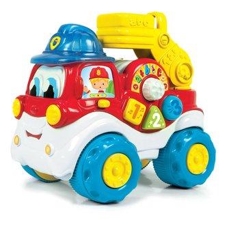 Brandweerwagen met geluid Clementoni