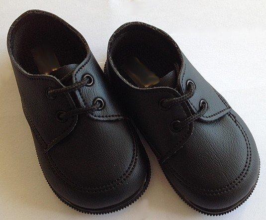 Jongensschoen zwart met veter