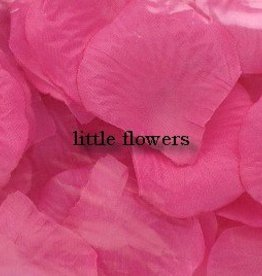 Strooiblaadjes donker rose