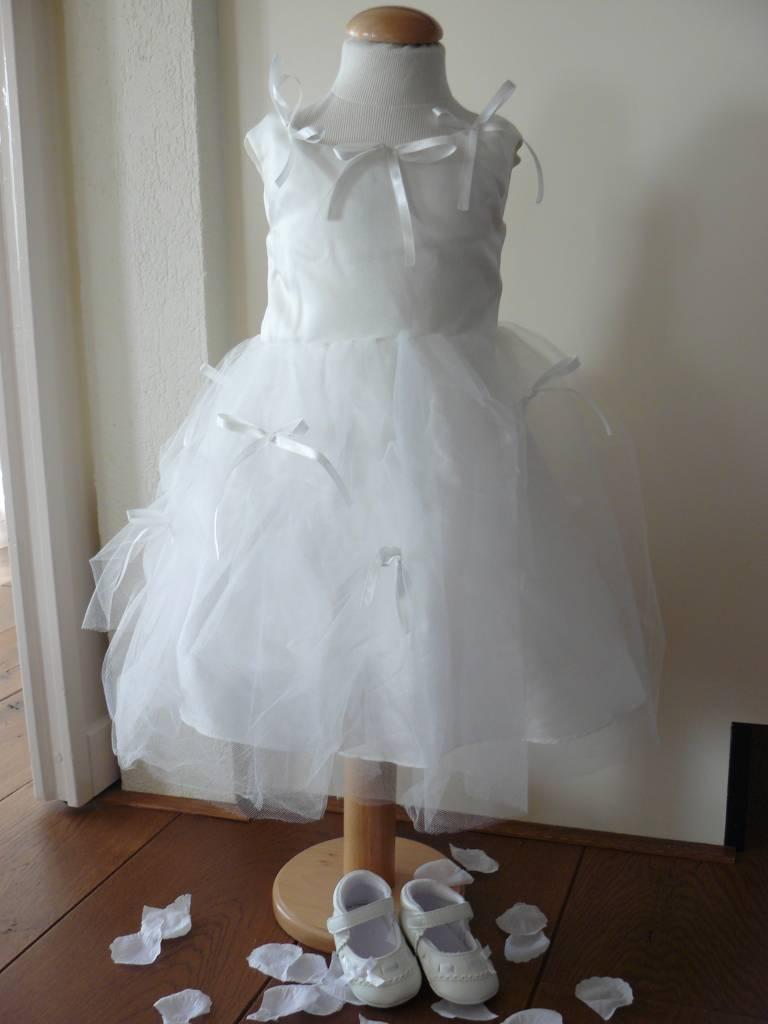 Bruidsmeisjes jurk Thirza ivoor