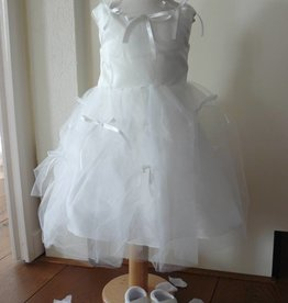 Bruidsmeisjes jurk Thirza wit
