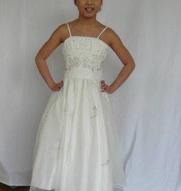 Bruidsmeisjes jurk Juliëtte ivoor