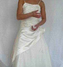 Bruidsmeisjes jurk  Kate ivoor