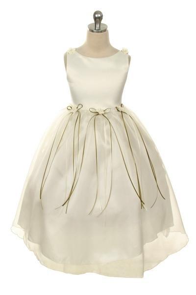 Bruidsmeisjes jurk May ivoor