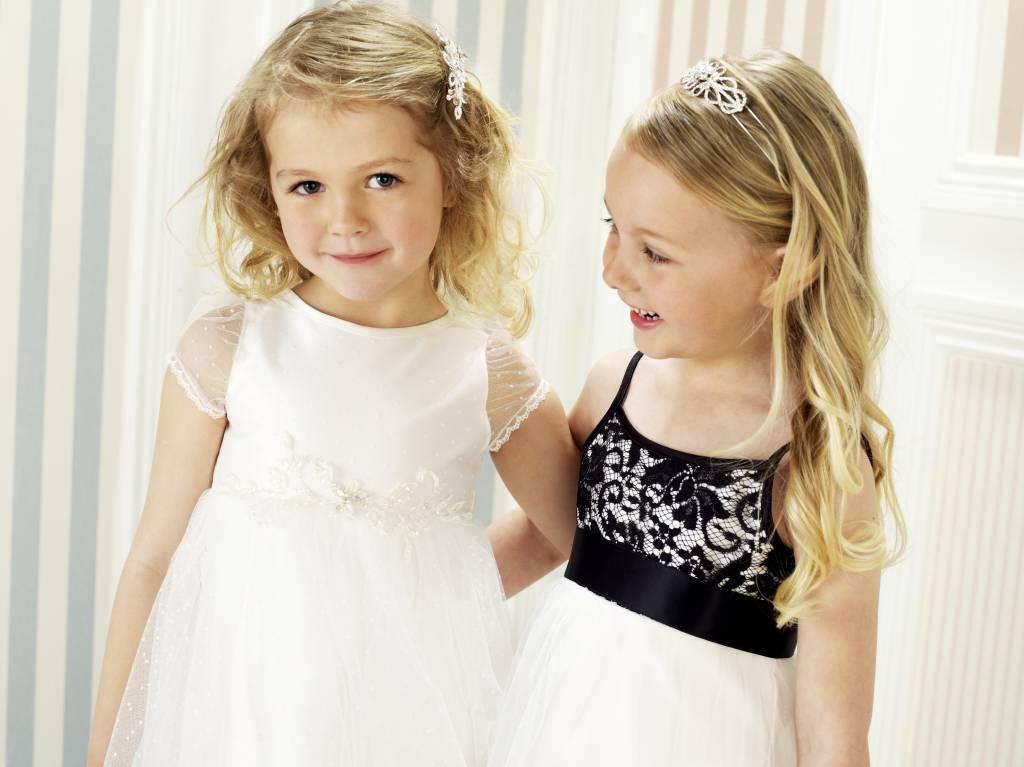 Lilly Bruidsmeisjes jurk - Feestjurk Victoria maat 140