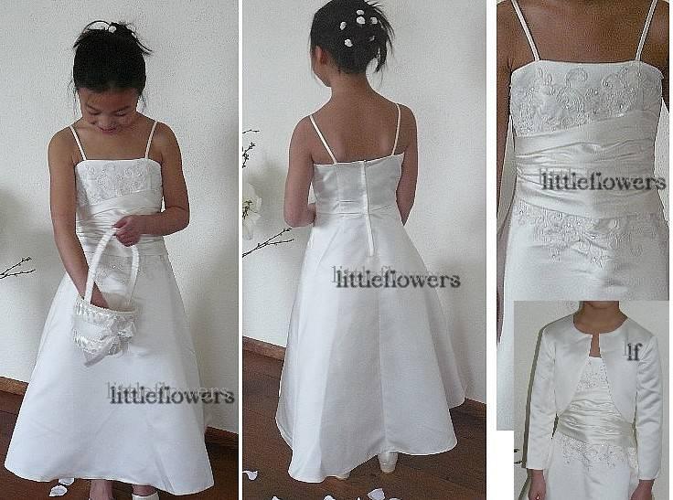Bruidsmeisjes jurk Olivia ivoor