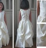 Bruidsmeisjes jurk Charlotte ivoor