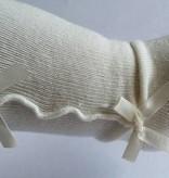 Maillot ivoor met strikjes