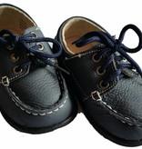 501 Baby peuter schoentje donkerblauw echt leder