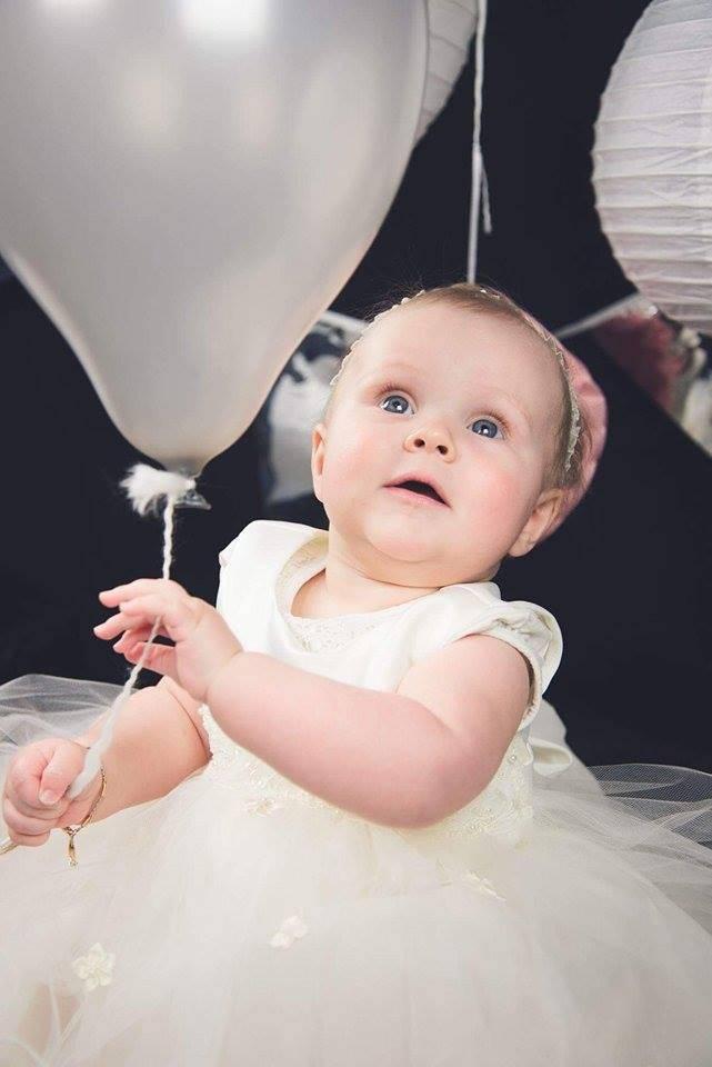 Baby feestjurk Stella ivoor