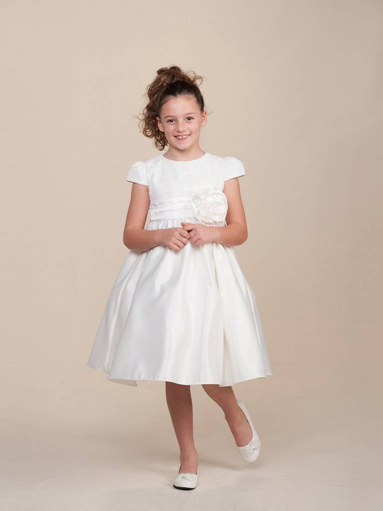 Bruidsmeisjes jurk Valerie ivoor