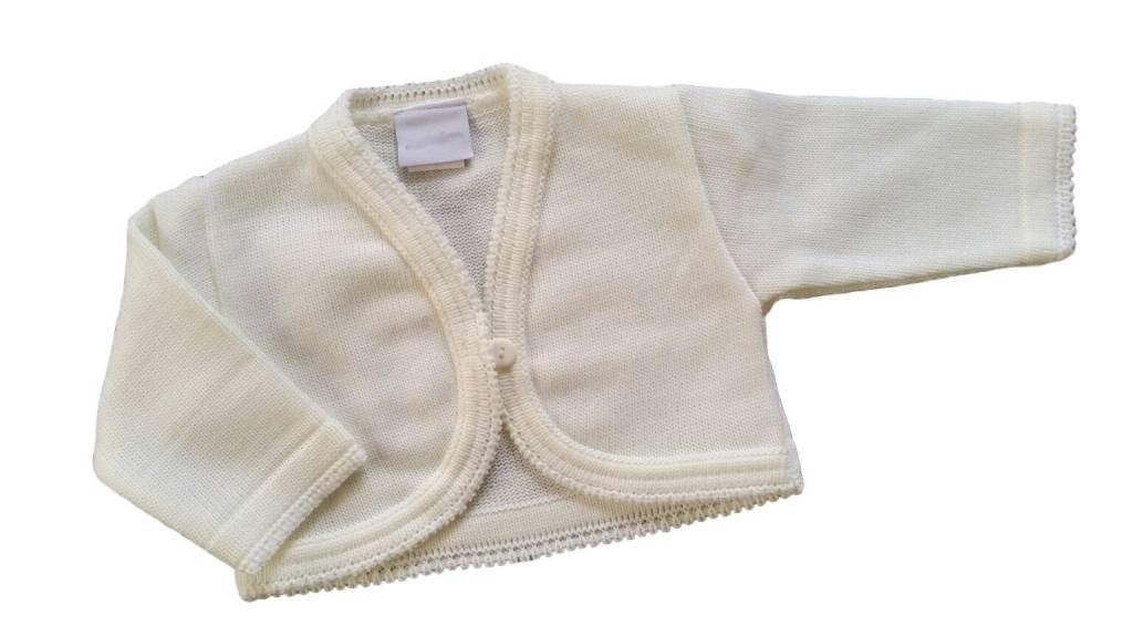 Baby vestje ivoor