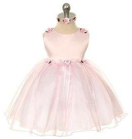 Bruidsmeisjes jurk Baby feestjurk May baby rose