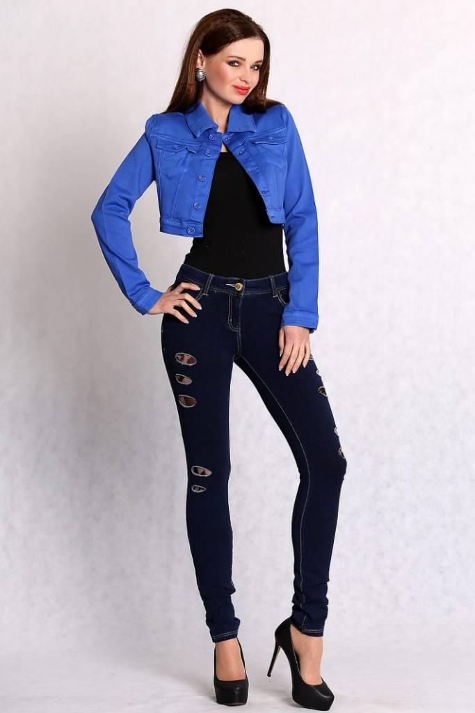 Short Blue Jacket - JacketIn