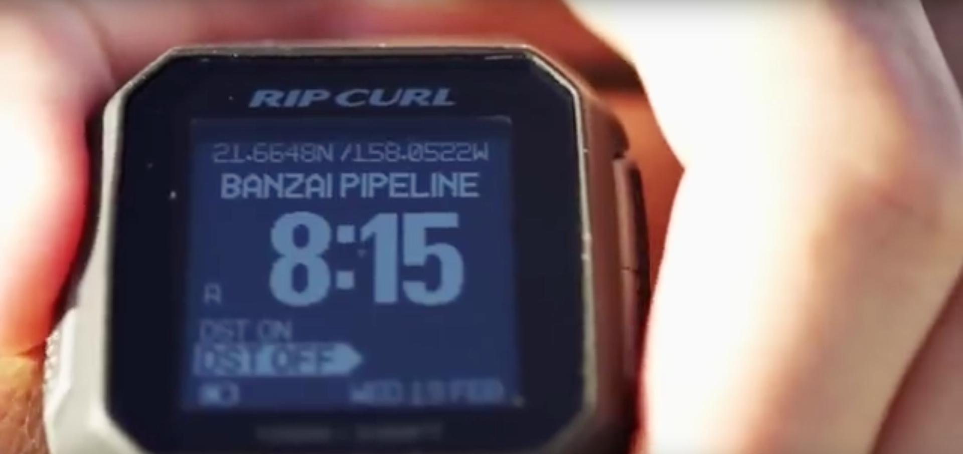 Golfsurf horloge wave count