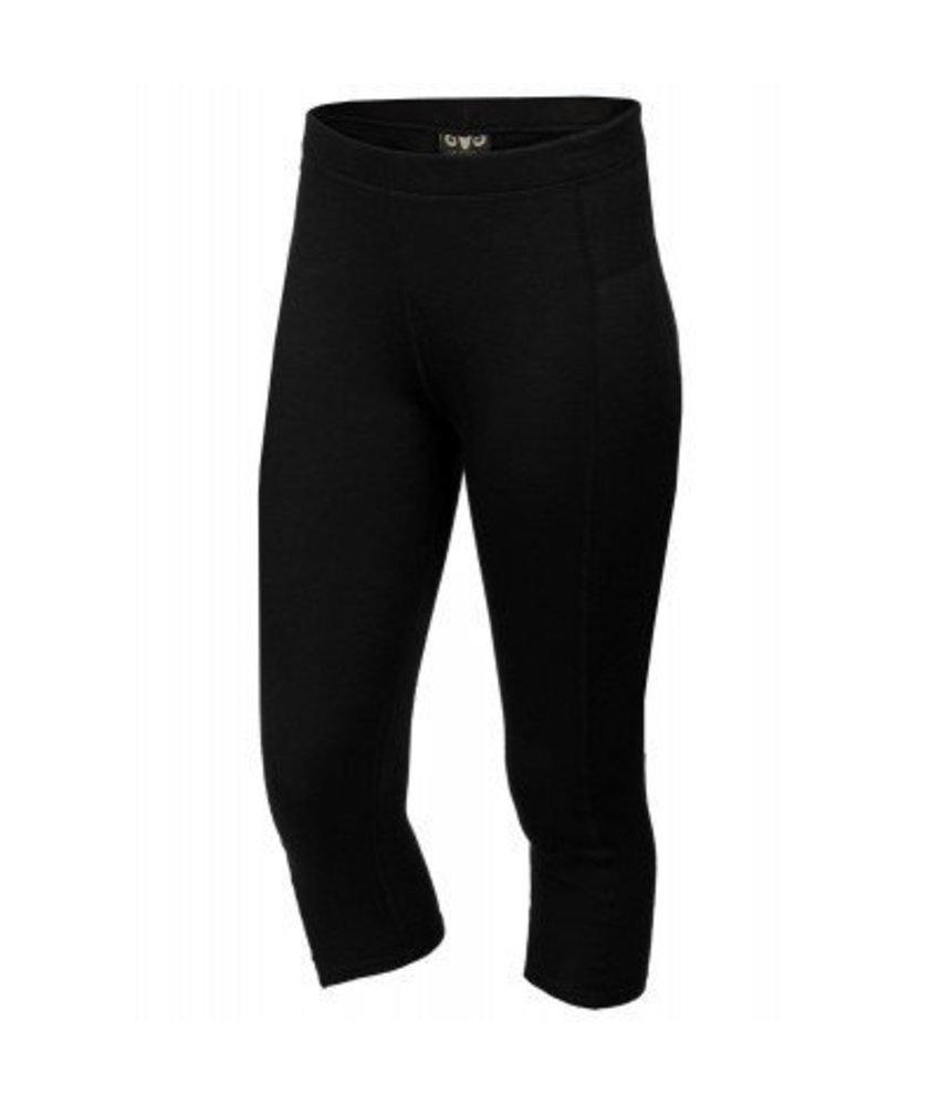 XTM Ladies Merino 3/4 Pant Black