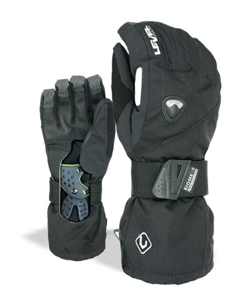 Level Glove Fly Black Black