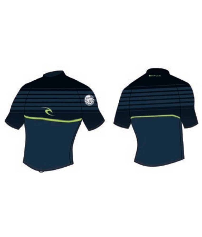 Rip Curl All Over S/SL UV Tee Navy