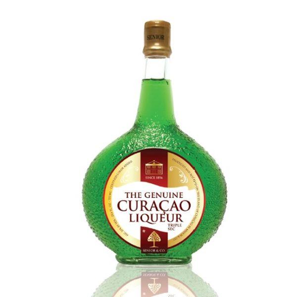 Curacao Liqueur Green 750ml