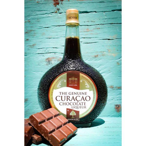 Curacao Liqueur Choco 50ml - Chukulati