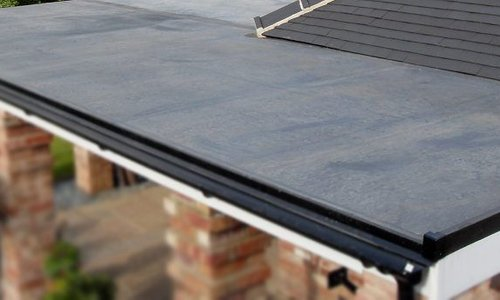 Op welk plat dak kan EPDM?
