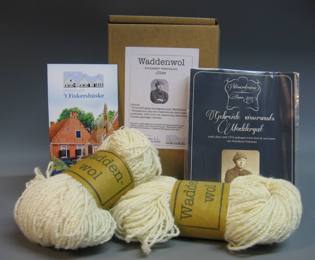Knitting kit fisherman's hat Moddergat