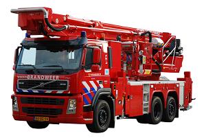 Hoogwerker brandweer