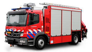 Hulpverleningsvoertuig brandweer