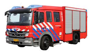 Tankautospuit brandweer