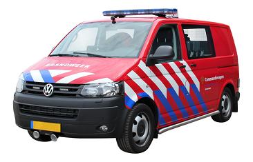 Dienstauto brandweer