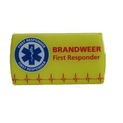 3D sticker First Responder