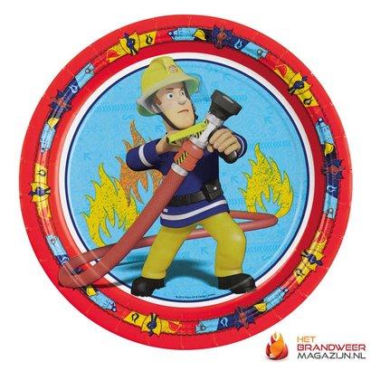 Brandweerman Sam Feestbordjes 8 st.