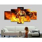 Canvas brandweerman