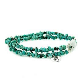 Bracelet natural turquoise