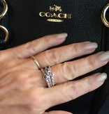NJ Bali stack rings  Pink sapphire