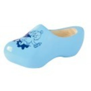 baby wooden shoes in blue