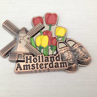 Magnet Amsterdam bronze