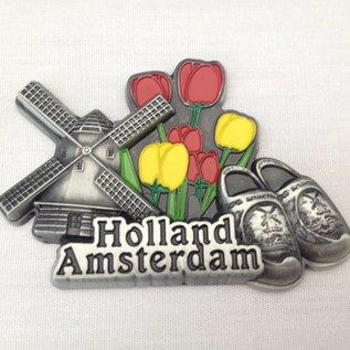 Magnet Amsterdam metal