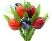 Tulpen aus Holz 34 cm