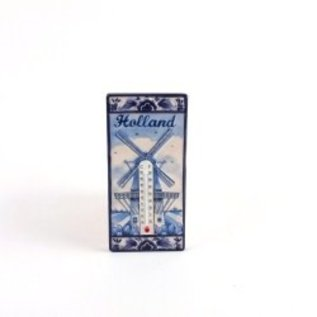 delft blue thermometer | Original Delft Blue thermometer with magnet