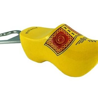 Bottle opener clog with stripes (8,5 cm)