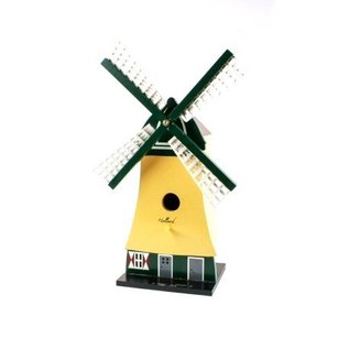 bird house in the form of a windmill
