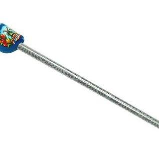 Bleistift Clog in Blau mit Mühle