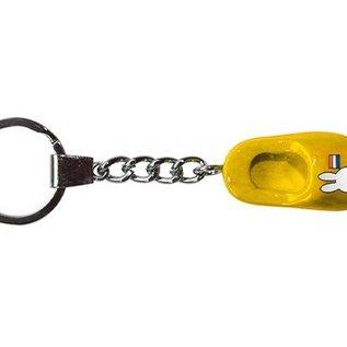 Schlüsselanhänger-gelbe Clogs von 4 cm miffy